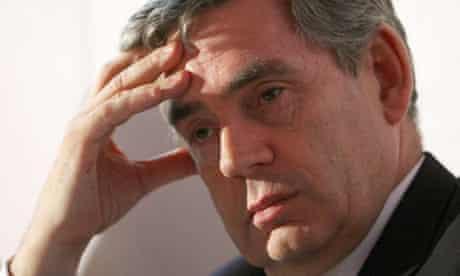 British PM Gordon Brown