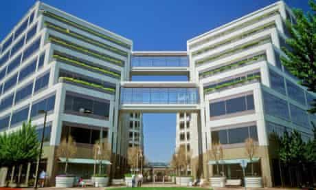 Apple corporate HQ in Cupertino, California