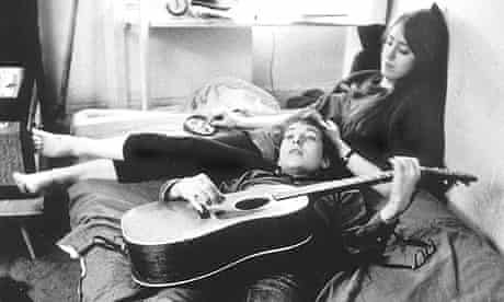 Bob Dylan and Suze Rotolo in Greenwich Village, in 1962.