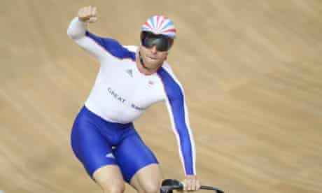 Chris Hoy of Great Britain