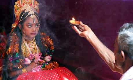 living goddess 'Kumari'