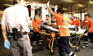 Madrid plane crash survivor