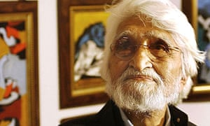 Indian artist Maqbool Fida Husain