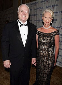 John McCain and Cindy McCain