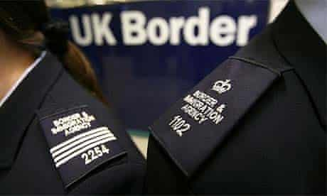 Immigration and border officers