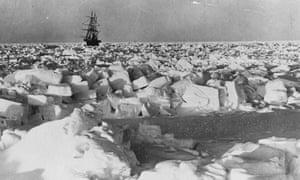 The Nimrod, Shackleton's ship