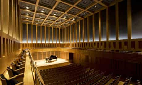 The concert hall in Kings Place, London
