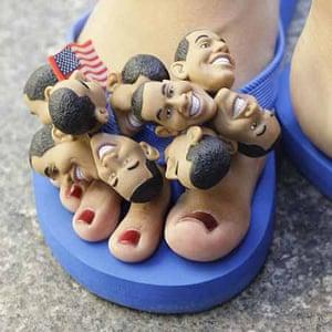 Obama flip-flops