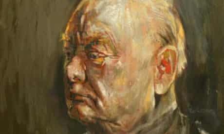 Graham Sutherland's portrait of Churchill, which was burned by his wife