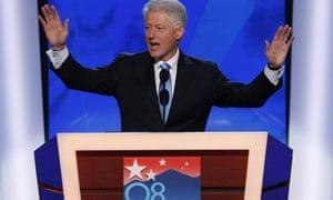 bill clinton, democratic convention