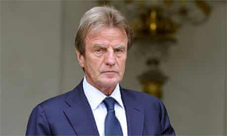 The French foreign affairs minister, Bernard Kouchner