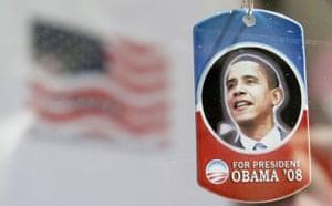 democratic convention, barack obama, dog tag, merchandise