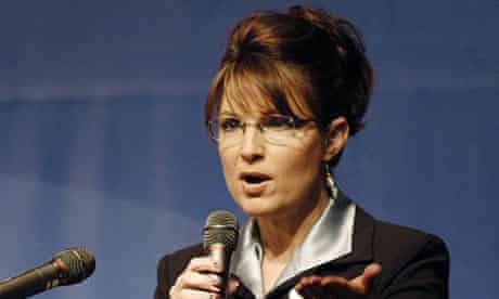 Republican vice-presidential candidate Sarah Palin