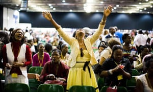 Pentecostalists at the Excel Arena in London