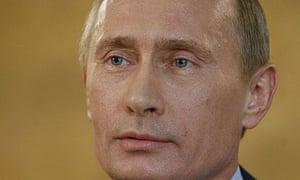 Vladimir Putin, the Russian prime minister