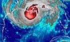 Hurricane Gustav appraoches the Gulg Coast of the USA