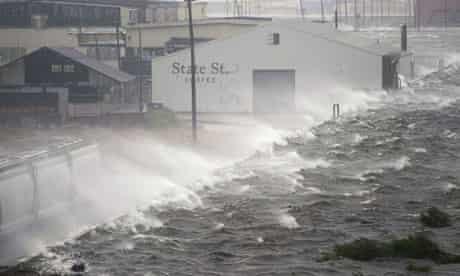 levee, new orleans, hurricane gustav