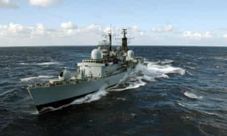 HMS Liverpool is currently deployed in the south Atlantic