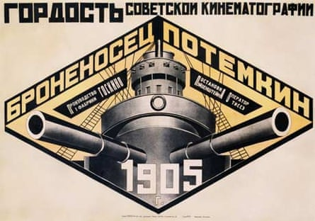 Battleship Potemkin 1905 poster by Alexander Rodchenko, Tate Modern's look at Rodchenko will be a forthcoming highlight