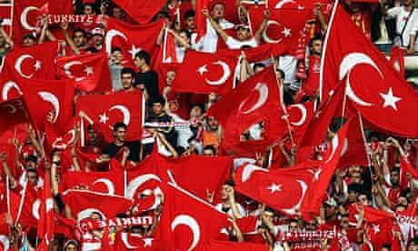 Turkish football fans