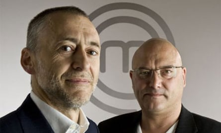 Michel Roux Jnr and Gregg Wallace, host of Masterchef: The Professionals