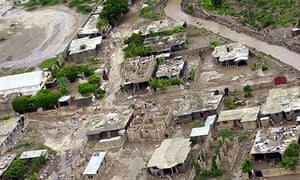 An aerial view of Gonaives, in Haiti, after the passing of tropical storm Hanna