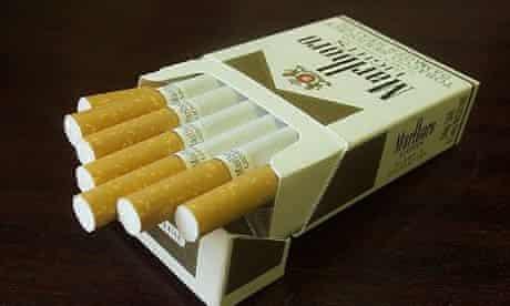 Marlboro cigarettes, fags
