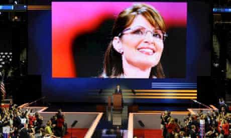 Utah Governor Jon Huntsman nominates Alaska Governor Sarah Palin to be the Republican vice presidential candidate