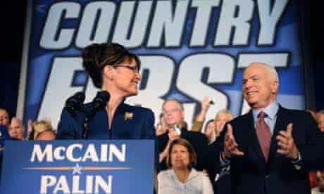sarah palin, john mccain, campaign, campaigning