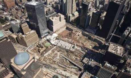 World Trade Centre, construction