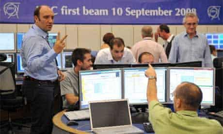 Large Hadron Collider (LHC) switch-on