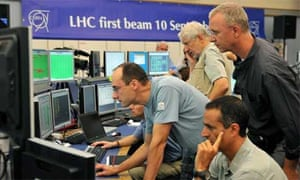 Switch-on of the Large Hadron Collider (LHC)