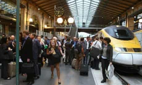 Eurostar passengers