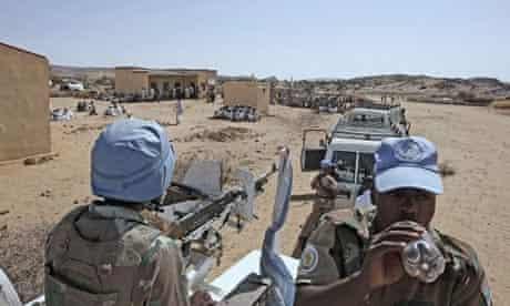 Peacekeepers in Darfur