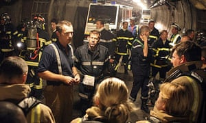 Channel Tunnel firefighters