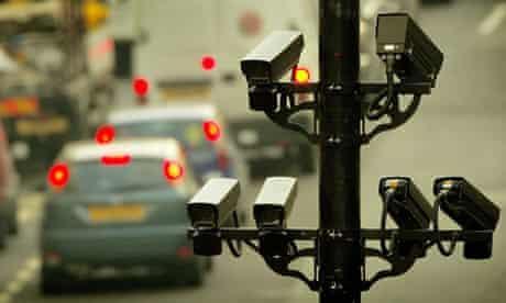 A CCTV camera in London