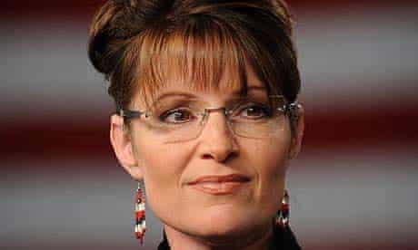 Sarah Palin speaking in Anchorage, Alaska