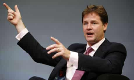 Liberal Democrat Conference 2008 Nick Clegg