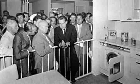 Our kitchens last longer ... Nixon and Khrushchev clash at Jack Masey's Moscow Expo