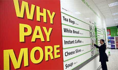 Supermarket discounts