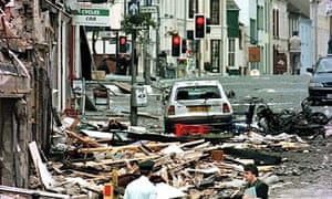 Omagh bomb afermath