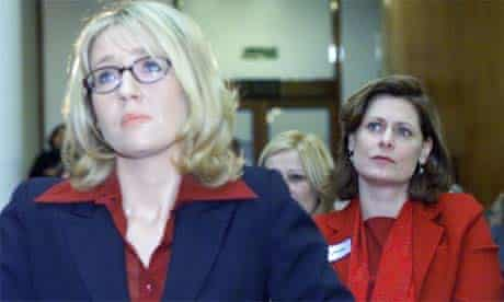 JK Rowling and Sarah Brown launching the One Parent Families conference, London, 2000