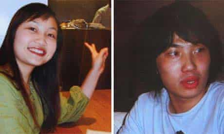 Chinese Students Xi Zhou and Zhen Xing Yang, who were murdered in Newcastle
