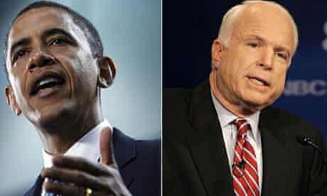 Barack Obama, John McCain, debate