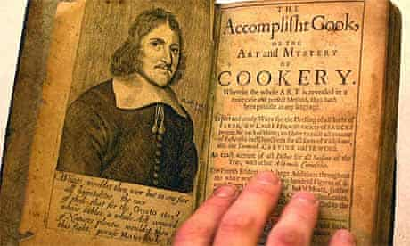 The Accomplished Cook recipe book, 1678