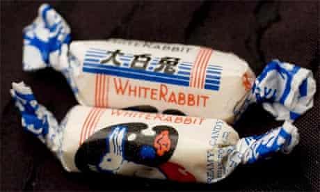 White Rabbit Creamy Candies