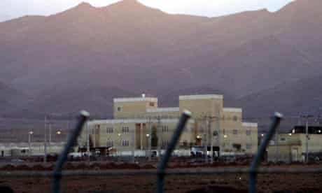 nuclear enrichment plant of Natanz in central Iran