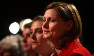 Sarah Brown, wife of prime minister Gordon Brown, at the Labour Party conference
