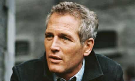 Paul Newman on the set of John Huston's espionage film 'The Mackintosh Man at Pinewood Studios, England, 1973