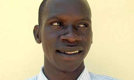 Eyedu Jean Godfrey, teacher in Katine Tiriri primary school